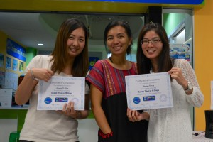 Students from China Learning Thai